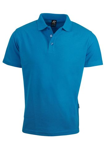 KIDS HUNTER POLO CYAN 6