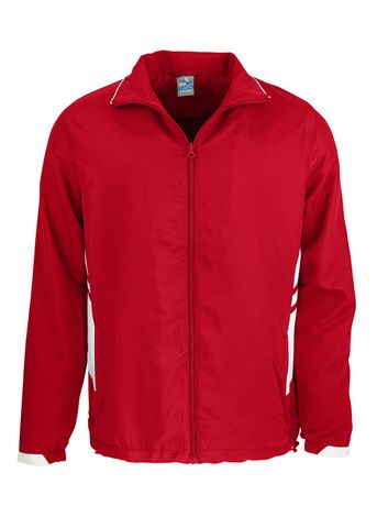 KIDS TASMAN TRACK TOP RED/WHITE 6