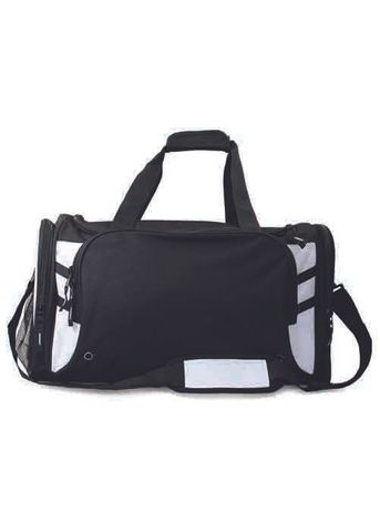 TASMAN SPORTS BAG BLACK/WHITE