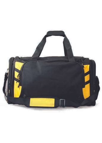TASMAN SPORTS BAG BLACK/GOLD