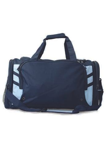 TASMAN SPORTS BAG NAVY/SKY