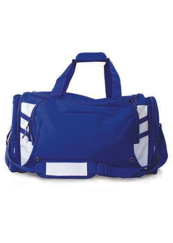 TASMAN SPORTS BAG ROYAL/WHITE