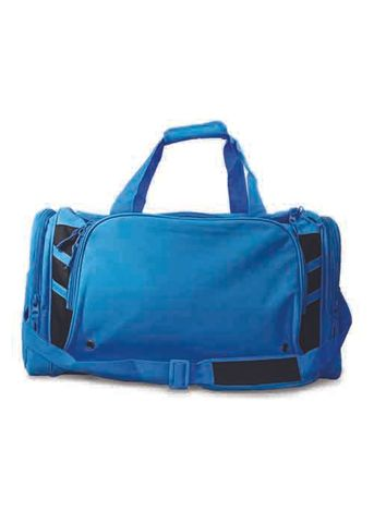 TASMAN SPORTS BAG CYAN/BLACK