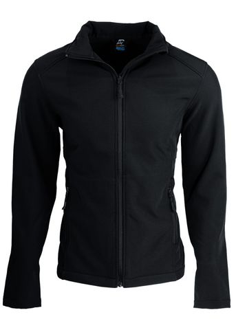 MENS SELWYN S/SHELL JKT BLACK 6XL