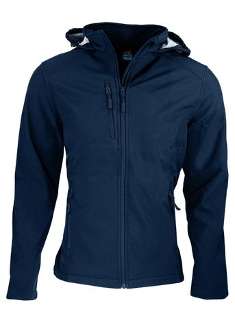 MENS OLYMPUS S/SHELL JKT NAVY 6XL
