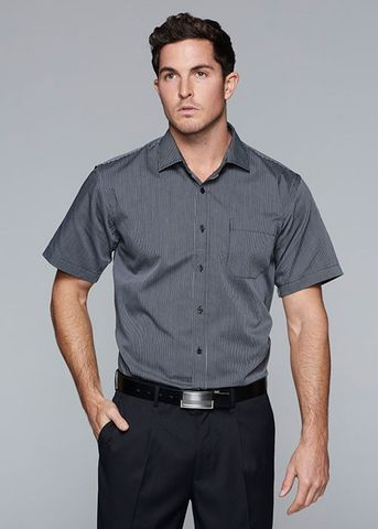 HENLEY MENS SHIRT SHORT SLEEVE - 1900S