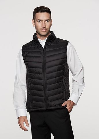SNOWY MENS VESTS - 1523
