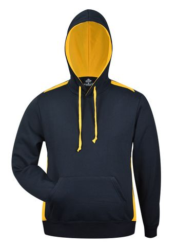 MENS PATERSON HOOD NAVY/GOLD XS