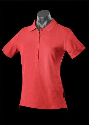 ** LADY REEF POLO RED 8