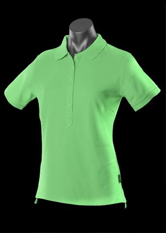 ** LADY REEF POLO APPLE GREEN 8