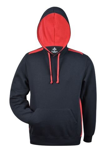 MENS PATERSON HOOD NAVY/RED XS