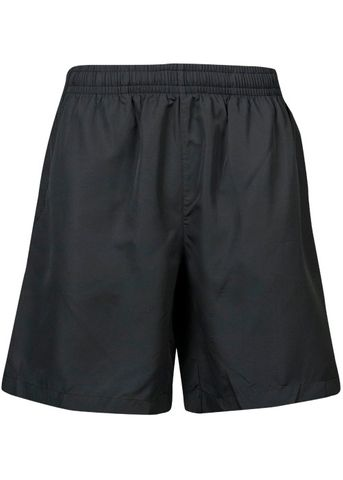 KIDS PONGEE SHORT BLACK 6