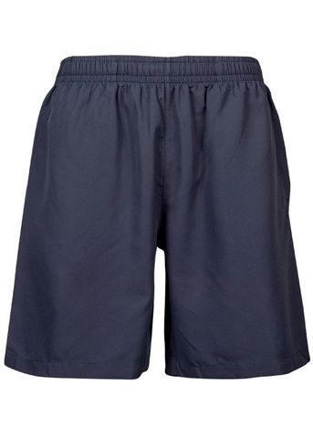 KIDS PONGEE SHORT NAVY 6