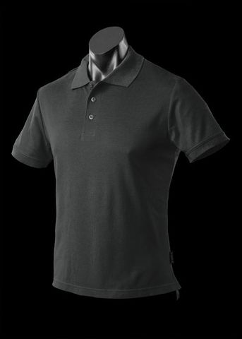 ** MENS REEF POLO BLACK S