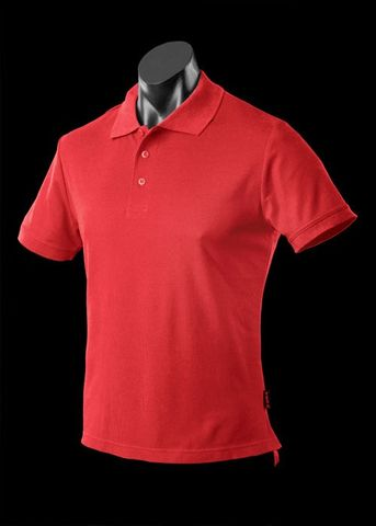 ** MENS REEF POLO RED XS