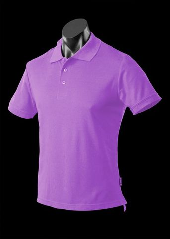 ** MENS REEF POLO PURPLE S