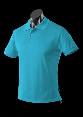** MENS REEF POLO HAWAIIAN OCEAN S