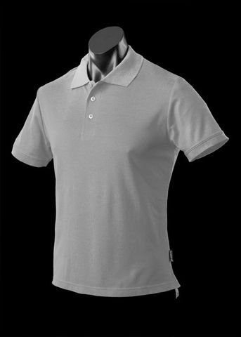 ** MENS REEF POLO SMOKE S