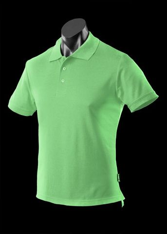 ** MENS REEF POLO APPLE GREEN S