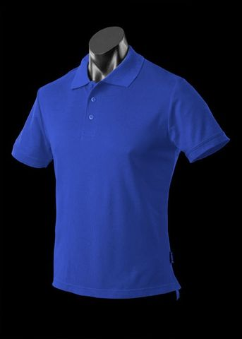 ** MENS REEF POLO ROYAL S
