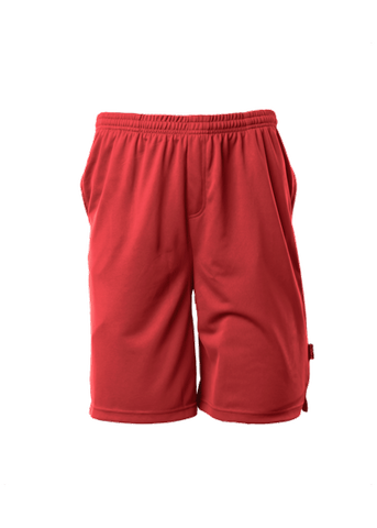 MENS SPORT SHORTS RED S