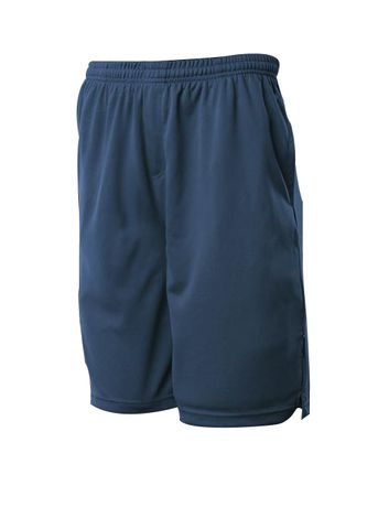 KIDS SPORTS SHORTS NAVY 8