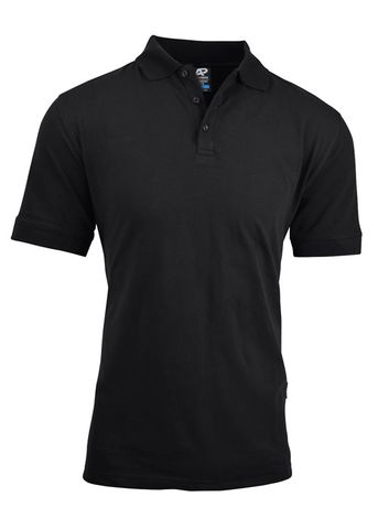 MENS CLAREMONT POLO BLACK S