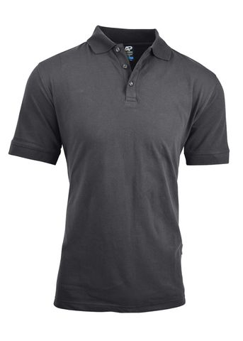 MENS CLAREMONT POLO SLATE S