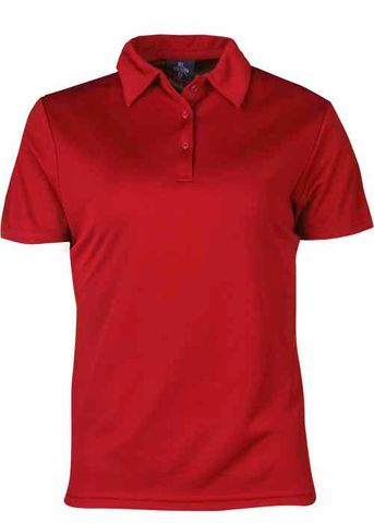 LADY BOTANY POLO RED 8