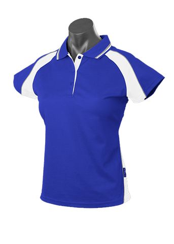 LADY PANORAMA POLO ROYAL/WHITE/ASHE 8