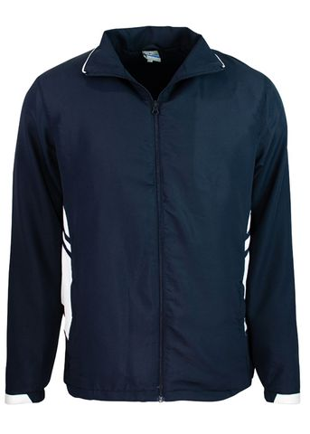 MENS TASMAN TRACK TOP NAVY/WHITE S