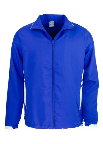 MENS TASMAN TRACK TOP ROYAL/WHITE S