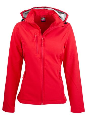 LADY OLYMPUS S/SHELL JKT RED 10