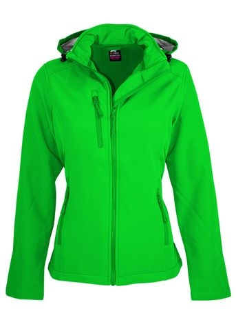 LADY OLYMPUS S/SHELL JKT GREEN 10