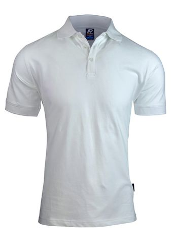 MENS CLAREMONT POLO WHITE S