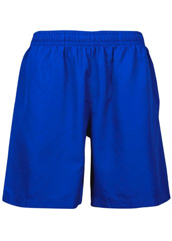 KIDS PONGEE SHORT ROYAL 6