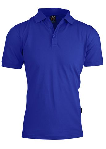 MENS CLAREMONT POLO ROYAL S