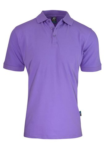 MENS CLAREMONT POLO PURPLE S