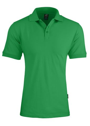 MENS CLAREMONT POLO KELLY GREEN S