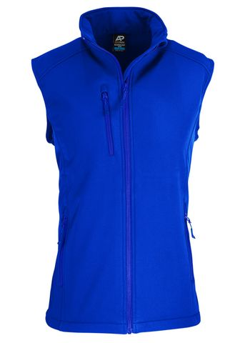 MENS OLYMPUS S/SHELL VEST ROYAL S