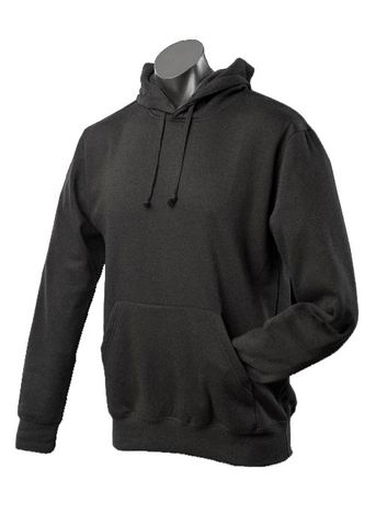 MENS BOTANY HOOD BLACK XS