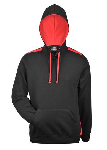 MENS PATERSON HOOD BLACK/RED XS