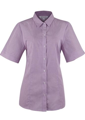 LADY TOORAK SHORT SLEEVE PURPLE/WHITE 8