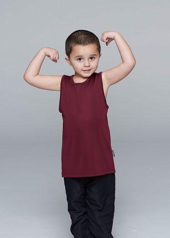 BOTANY KIDS SINGLETS - N3107