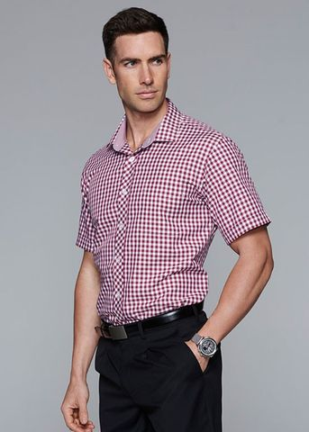 BRIGHTON MENS SHIRT SHORT SLEEVE - N1909S