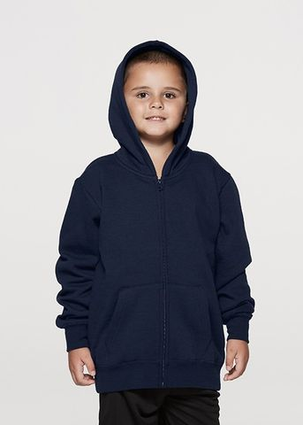 CRONULLA ZIP KIDS HOODIES - N3510