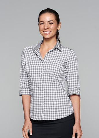 DEVONPORT LADY SHIRT 3/4 SLEEVE - N2908T