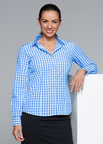 DEVONPORT LADY SHIRT LONG SLEEVE - N2908L