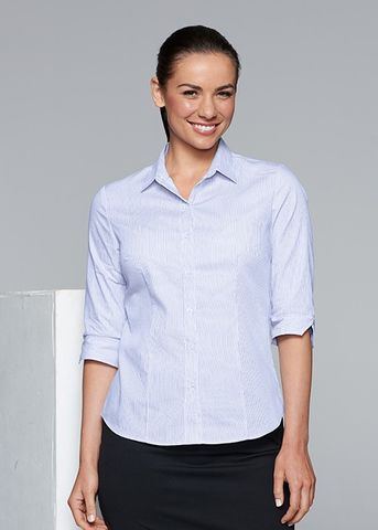 HENLEY LADY SHIRT 3/4 SLEEVE - N2900T