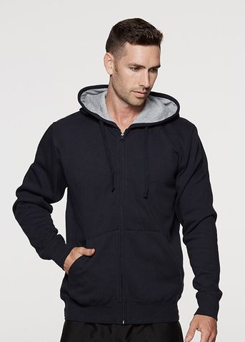 KOZI ZIP MENS HOODIES - N1503